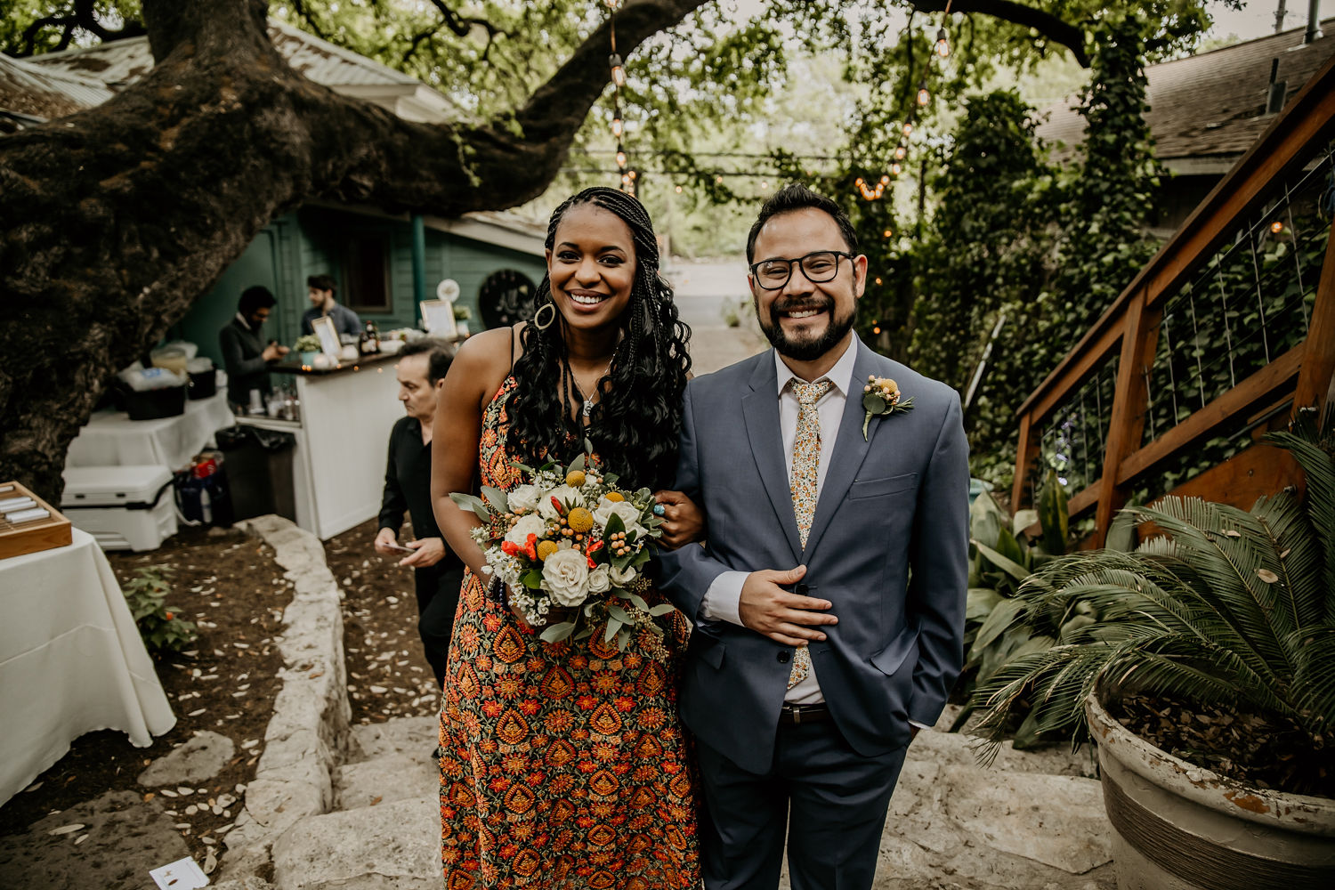 Mindy and Omar's wedding at Sanctuary Event Space